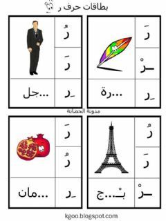 حرف الراء Language Arabic Grade Level 1 2 School Subject اللغة العربية Main Content الحروف الهج In 2021 Arabic Alphabet Alphabet For Kids Arabic Alphabet Letters