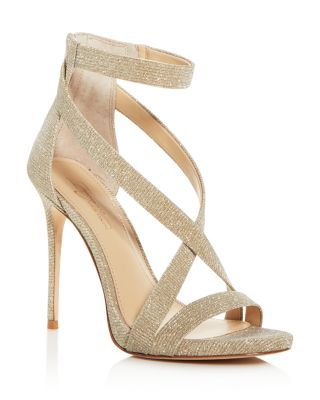 Ankle strap heels, Ankle strap high