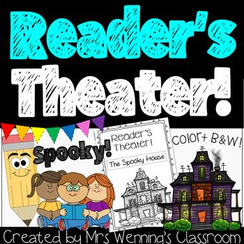 Original Plans For Halloween 2020 Spooky Reader's Theater Book! in 2020 | High school art lesson