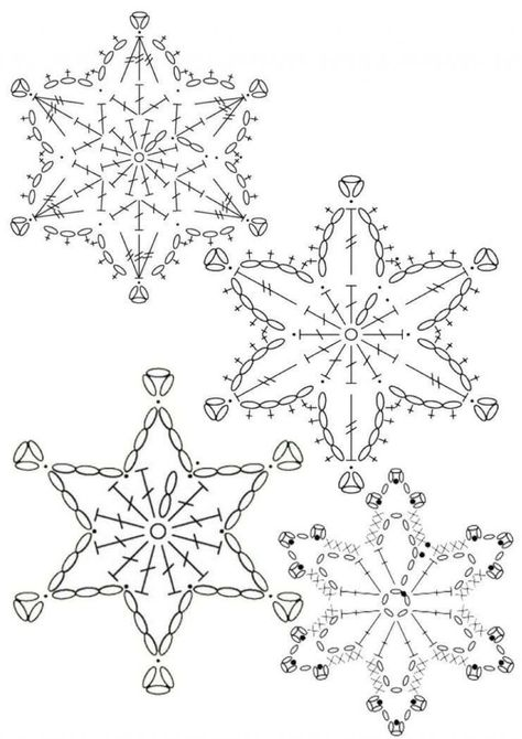 15 crochet snowflakes patterns- free patterns – Turcoaz cu Vanilie