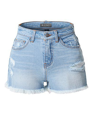 These Stretchy Vintage Denim Jean Shorts Are A Must Have For Your Wardrobe Perfect If You Are Always O In 2020 Plaid Pants Vintage Denim Jeans Women S High Rise Jeans
