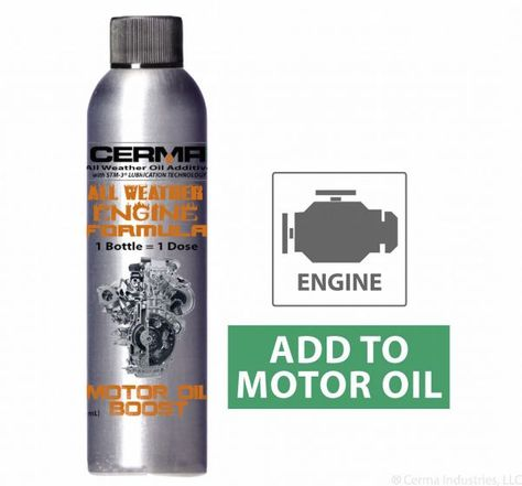 Cerma Oil Boost Is An All Weather Engine Oil Additive Which Will