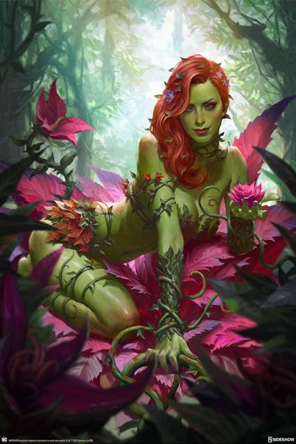 'Poison Ivy' by Heonhwa Choe   Love Marvel? Check out our Sortable Avengers Fanfiction Rec List - https://fanfictionrecommendations.com/avengers-marvel-cinematic-universe/