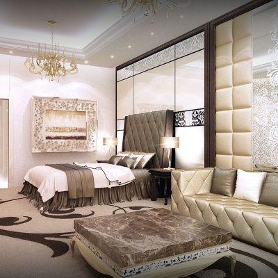 Modern Master Bedroom Interior Design By Aristo Castle Luxury Interior Design Companies In Dubai Top  Interior Designers And Decorators In Dubai