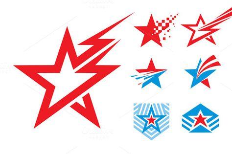7 Stars - Logo Signs Illustrations by serkorkin on creativework247