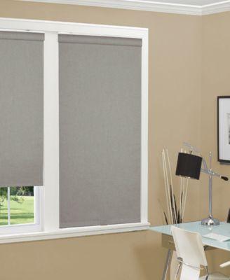 Us Shade Shutter Cordless Linen Look Thermal Fabric Roller Shade 23 Fabric Roller Shades Roller Shades Window Shades