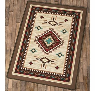 Turquoise Cross Rug 8 X 11 Rugs Turquoise Cross Cowboy Decorations