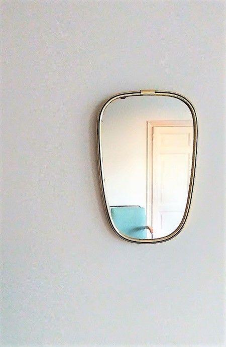 Vintage Lenzgold Spiegel Jaren 50 Verkocht Met Afbeeldingen