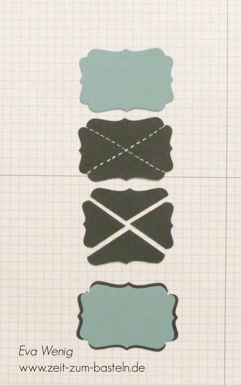Stempel-ABC - Punch Art Dekoratives Etikett Stampin' Up! Card Making Tips, Card Making Tutorials, Card Making Techniques, Making Ideas, Paper Punch Art, Punch Art Cards, Arte Punch, Cards For Men, Origami