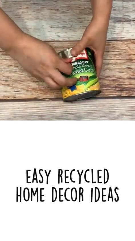 Easy Recycled Home Decor Ideas DIY