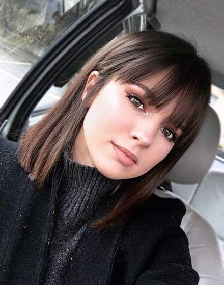 Haircut Straight Hair Bangs Fringes 47 Ideas For 2019 Hair Styles Medium Hair Styles Short Hair Styles