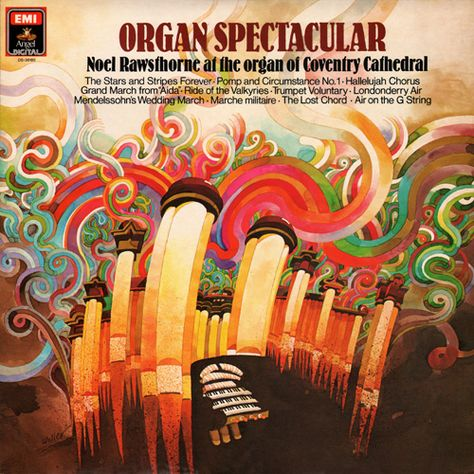 Organ Spectacular By Don Weller Art Music Album Covers Cool