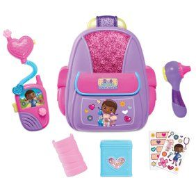 Disney Junior Doc McStuffins Toy Hospital First Responders Backpack Set Little Girl Toys, Baby Girl Toys, Toys For Girls, Kids Toys, Doc Mcstuffins Toys, Baby All In One, Walmart Online, Walmart Toys, Baby Alive Dolls