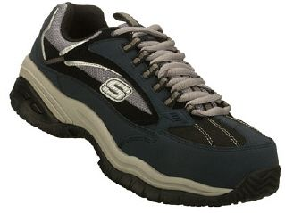 Skechers Work #Mens Casual Shoes #Skechers #Work #Men's