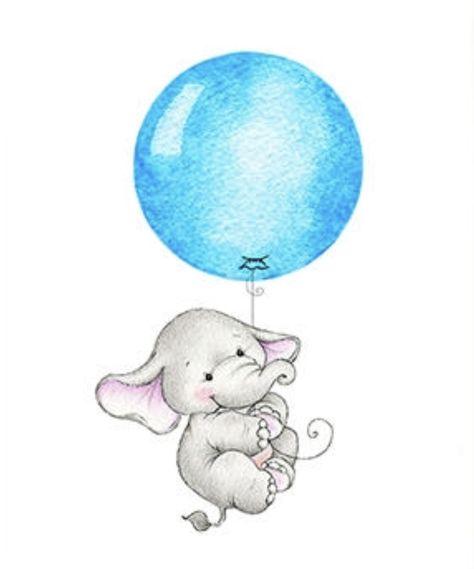 Baby Elephant | Sweet Baby Art