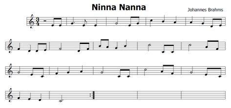 NINNA NANNA BRAHMS SCARICARE