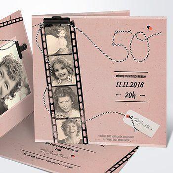 Einladungskarten 50 Geburtstag Selbst Gestalten Einladung