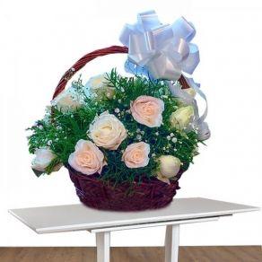 Peaceful Moments Basket In Kolkata 799 Flower Delivery Best Flower Delivery Online Flower Delivery