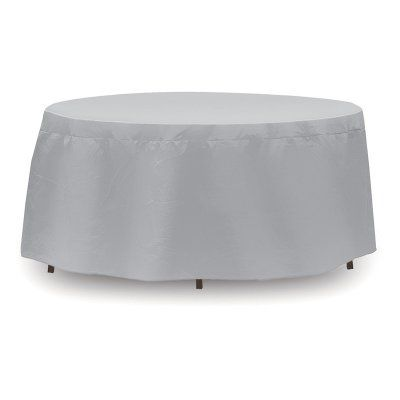 Pci By Adco 54 In Round Patio Table Cover With Umbrella Hole 1154