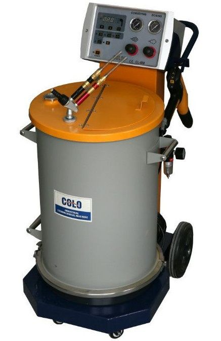 electrostatic powder coating paint guns for sale, colo is 10