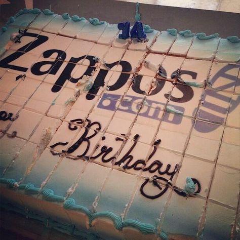 Happy Birthday Zappos! Twitter / eyezapp: #Zappos is 14!! ...