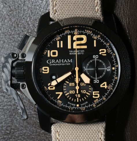 ba29d7b95349 Graham Chronofighter Sahara  watch  graham