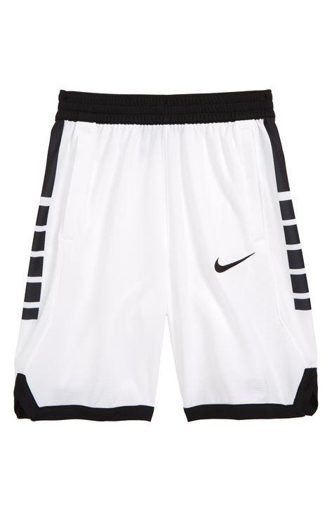 Boy S Nike Dry Elite Basketball Shorts Size Xs 7 White Basketball Big Boys Dry Elite J In 2020 Basketball Clothes Basketball Shorts Womens Basketball Shorts