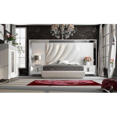 Everly Quinn Jerri Upholstered Standard Bed Wayfair In 2020 Bedroom Set 5 Piece Bedroom Set Upholstered Platform Bed