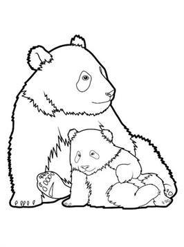 Nice Coloring Page Panda On Kids N Fun Panda Coloring Pages Cool Coloring Pages Coloring Pages