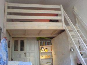Kinderhochbett selber bauen  hochbett selber bauen | Ideen | Pinterest | Hochbett selber bauen ...