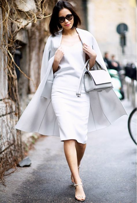 Fashion rules aside, this slideshow is for anyone who loves an effortless all-white look as much as we do. Related Posts:South African Rocks Shweshwe Dresses outfits street style for women fashion outfits all white outfits 2016 Related
