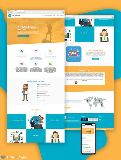 Web Design for The WP Inner Circle