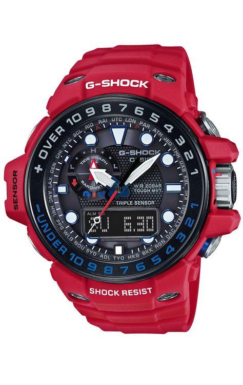 0048b19d3eb Reloj Casio G-Shock cronógrafo hombre GWN-1000RD-4AER