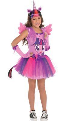 Girls Twilight Sparkle Costume My Little Pony Fasnacht