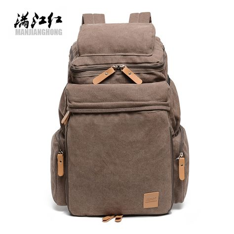 Color : Blue, Size : 321649cm XM-mens bag Cozy Canvas Retro Style Unisex Travel Laptop Backpack Outdoor Travel Day Wallet Travel Backpack Sturdy