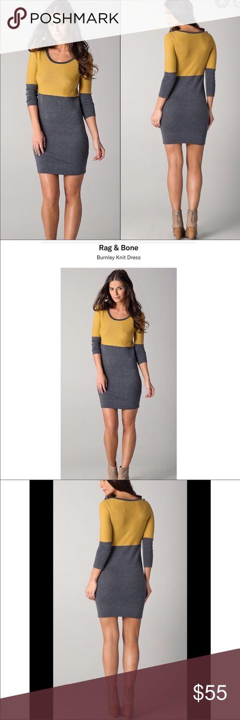 Rag & Bone Burnley Knit Sweater Dress $289 Normal wear. No major flaws  #A30 rag & bone Dresses Midi