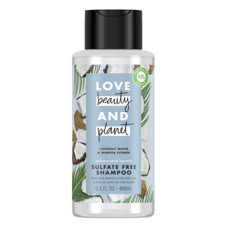 Love Beauty And Planet Volume And Bounty Shampoo Sulfate Free Vegan 13 5 Oz Walmart Com Beauty Planet Shampoo Free Paraben Free Products