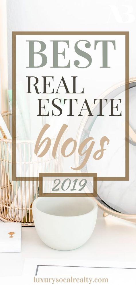 Real Estate Blogs (2019 Best Real Estate Blogs)
