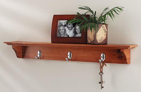 Yorkshire Shelf With Hooks At Menards Shelves Traditional
