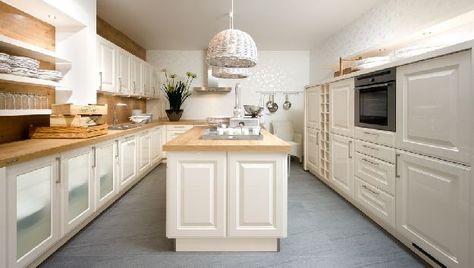 Nolte-Landhausküche Hausbau Pinterest Landhausküchen, Nolte - nolte k chen bilder