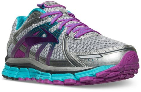 16ffb8f4bf3d3 Brooks Women s Adrenaline 17 Running Sneakers from Finish Line ...