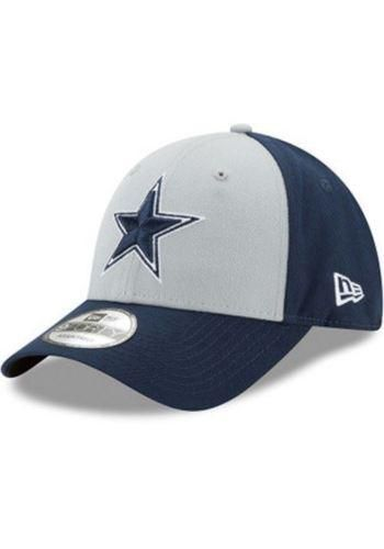 0d0b486d Mens Dallas Cowboys New Era Gray/Navy The League Block 9FORTY ...