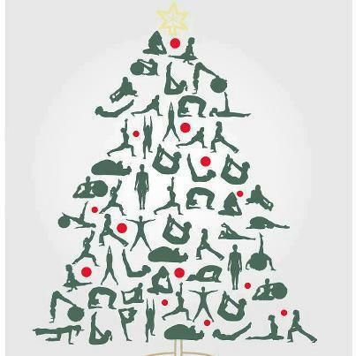My kind of christmas tree  Namaste  Pinterest  Yoga Namaste