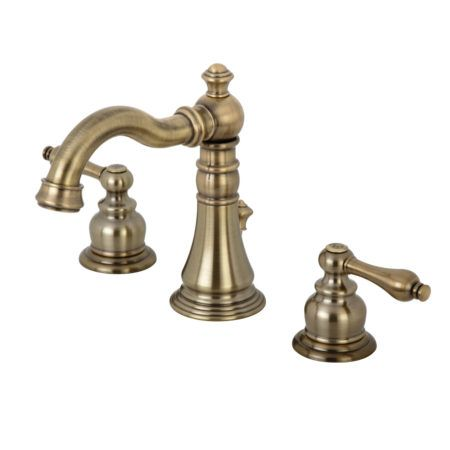 Fauceture Fsc19733al English Classic Widespread Bathroom Faucet Antique Brass Kingston Brass Bathroom Faucets Widespread Bathroom Faucet Faucet