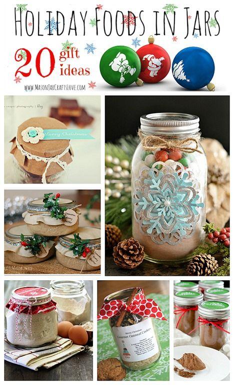 20 Fabulous Foods in Mason Jars for the Holidays * Mason Jar Crafts Love