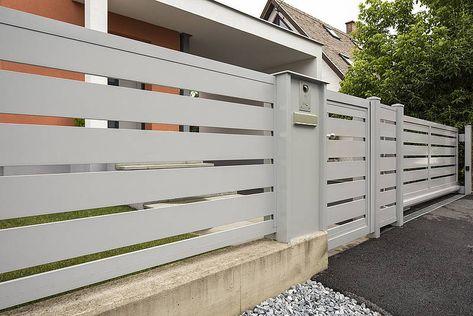 Schiebetor Tor Guardi österreich Aluminium Einfahrt Eingang