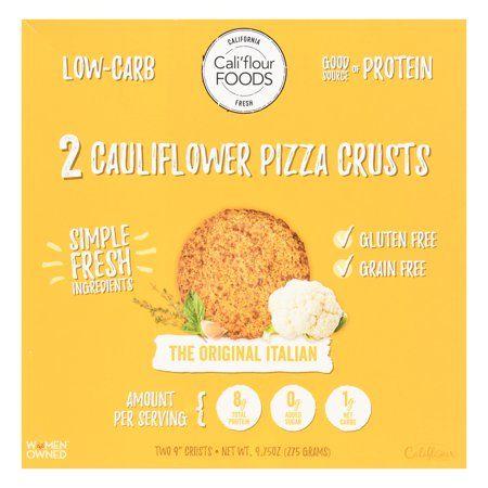 Food Foods With Gluten Cauliflower Crust Pizza Cauliflower Pizza