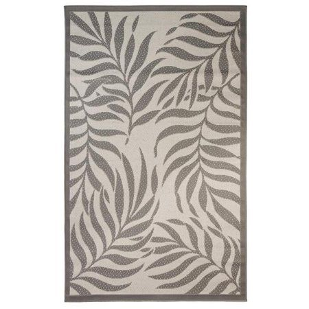 Tropical Indoor Outdoor Rugs Flatweave Contemporary Patio Pool Camp And Picnic Carpets Fw 513 Light Grey Anthracite 8 X 10 Walmart Com Indoor Outdoor Rugs Tropical Area Rugs Area Rugs