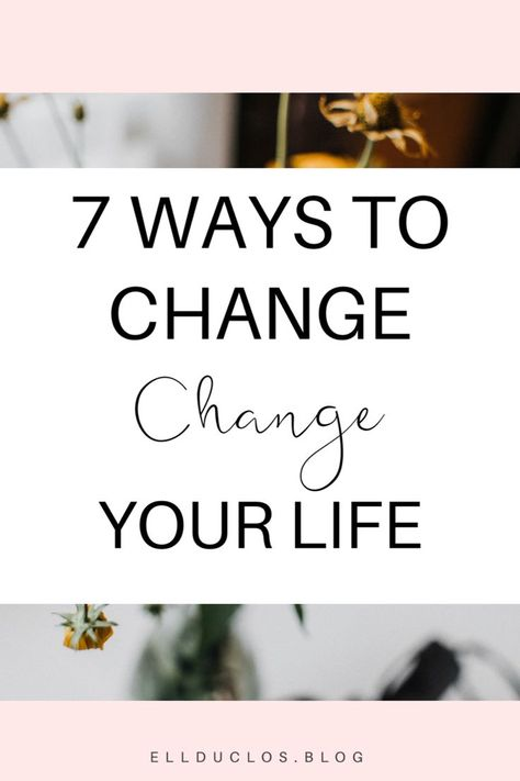 Lifestyle Changes You Need to Make This Year - ELLDUCLOS