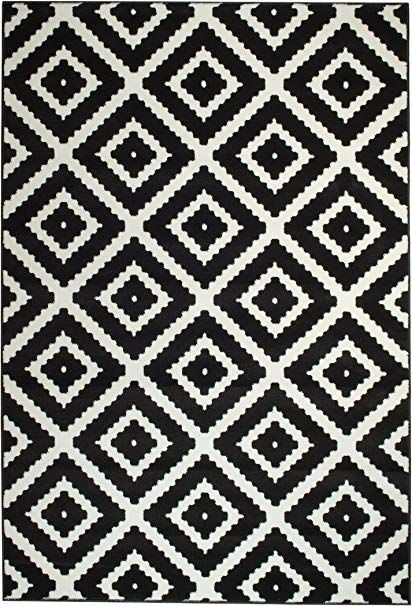 Black And White Area Rugs Area Rugs